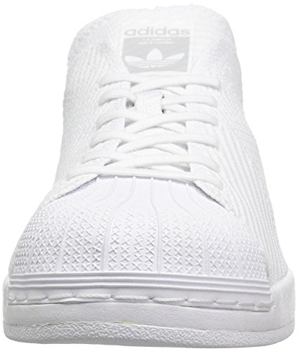 Adidas Originals Para Hombre Superstar Bounce Pk Fashion Sneaker Blanco / Blanco / Blanco