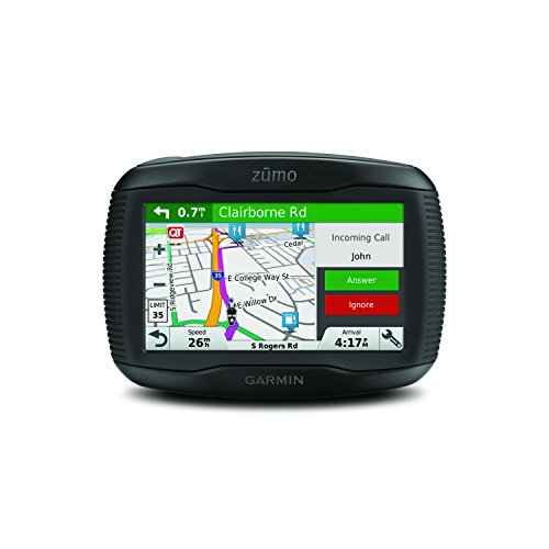 Garmin zumo 395LM Motorcycle GPS Navigator - Mountable - 4.3
