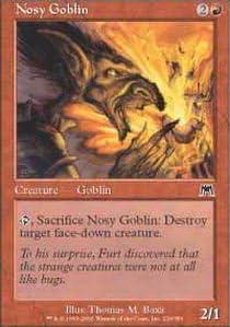 MTG NOSY GOBLIN X 4 N//M ONSLAUGHT