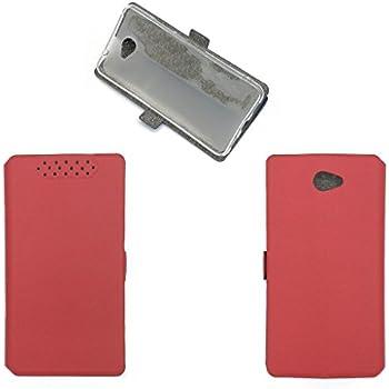 Amazon.com: Caso para Huawei Y7 2017 trt-lx2 carcasa, Rojo ...