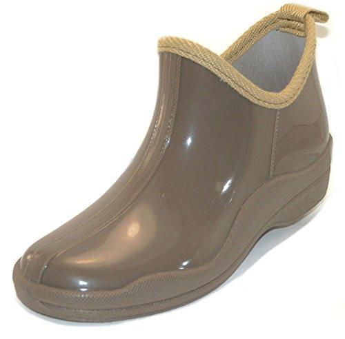 Sh18es Shoes8teen Womens Korta Regnar Kängor Prints & Fasta 1118 Tan
