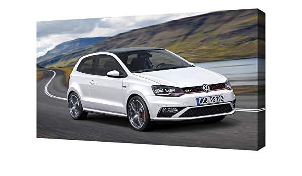 2015 – Volkswagen-Polo-GTI-V5-1080 – Lienzo Impreso – Arte de ...