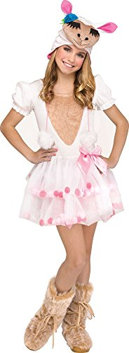 Fun World Lovely Llama Costume, Large 12-14, Multicolor -