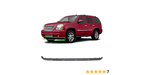 NEW Textured Front Bumper Lower Air Deflector Valance for 2007-2014 GMC Yukon