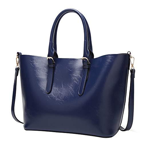 Borsa A Tracolla In Pelle PU Per Donna Borsa A Tracolla Grande Per Shopping Bag Con Tracolla In Pelle A Tracolla Grande Sapphireblue