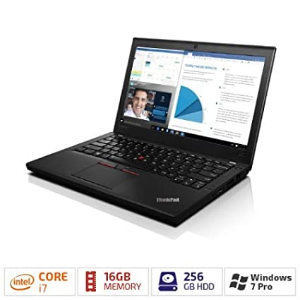 Amazon com: ThinkPad X260, Intel Core i7-6600U 2 60GHz, 4MB