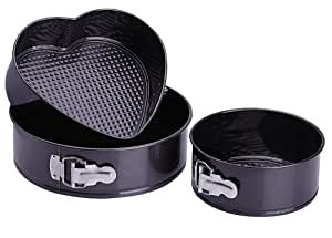 Progressive International 3 Piece Springform Pan Set
