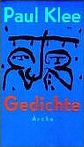 Gedichte Paul Klee Felix Klee 9783716022931 Amazoncom