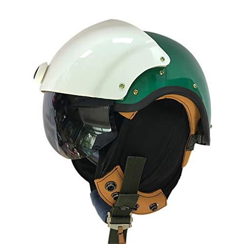 muucas US Air Jet Pilot Fun Anime Cosplay Mask Gear Helmet