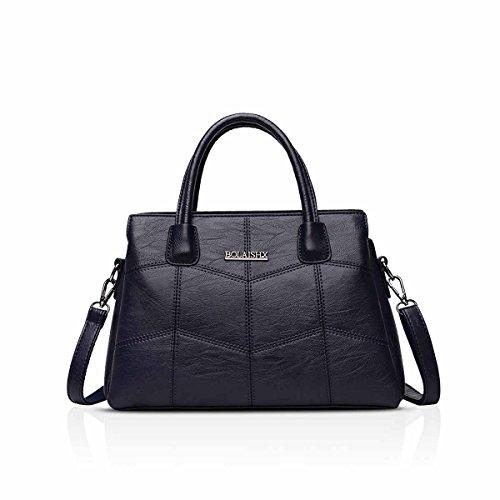Nicole & Doris Fashion Bag Ladies Handbag Women Handbag New Wives Shoulder Diagonal Women's Fashion Large Capacity Wine Red To Blue