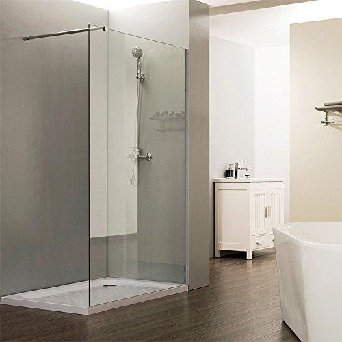 Mampara de ducha fija 8 mm Calypso – 110 cm: Amazon.es: Hogar
