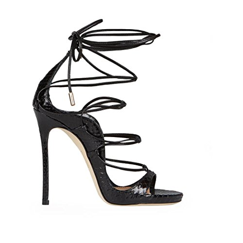 outlet for nice release dates authentic DSQUARED2 RiRi Black Ayers Sandal hrVyBB