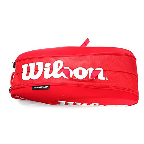 Wilson Tour Molded (9-Pack) Tennis Bag (Red) by Wilson (Image #2)