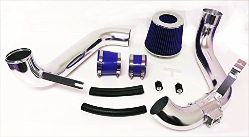 - 2012 2013 2014 2015 Honda Civic DX LX EX with 1.8L 4Cyl Cold Air Intake Filter System Kit (Blue Filter & Accessories)