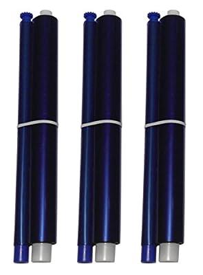 3-pack of KX-FA91 Fax Film Ribbon Refill Rolls for Use in Panasonic KX-FP205 KX-FP215 KX-FP215E KX-FP225 KX-FG2425 KX-FG2451 KX-FG2452 KX-FG2858