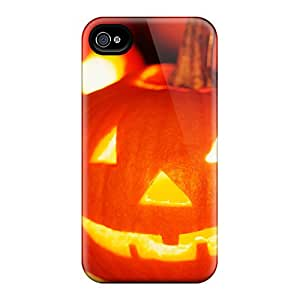 Perfect Fit KgVummZ5449JzRRn Halloween Jack O Lantern Case For Iphone - 4/4s