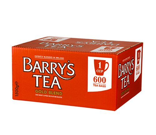 Barrys Decaffeinated Tea (Barry's Tea Gold Blend - 600 Tea Bags)
