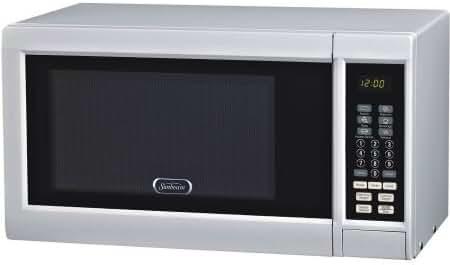 Sunbeam 0.9 cu ft Digital Microwave