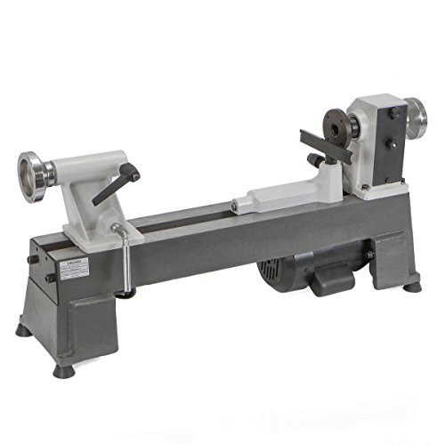 HEAVY DUTY 5 SPEED BENCH TOP POWER TURNING WOOD LATHE TOOLS NEW 10 x 18'' by BUY JOY