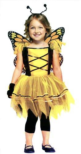 Ballerina Butterfly Toddler Costume Gold (24M-2T) -
