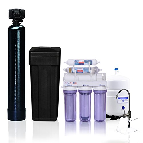 Whole-House-Water-Filtration-Kit-Fleck-5600-Metered-on-Demand-Water-Softener-6-Stage-High-Flow-Antioxidant-Reverse-Osmosis-Drinking-Water-Purification-System-LiquaGen-Water