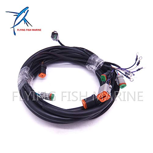 Boat Engine 0176340 176340 New SystemCheck 15ft Main Modular Ignition Wiring Harness Cable for Evinrude Johnson OMC Outboard Motor