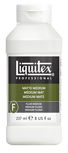 (Liquitex Professional Matte Fluid Medium, 8-Ounce )