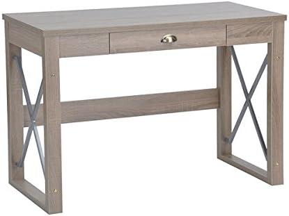 Mesa de escritorio para ordenador, con cajón, estilo moderno ...