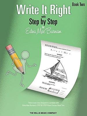 Download [(Write It Right with Step by Step, Book Two)] [Author: Edna Mae Burnam] published on (July, 2005) pdf