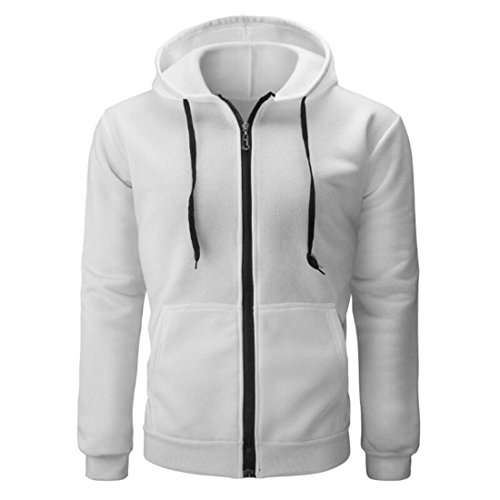 UJUNAOR Fashion Mens Hooded Camouflage Zipper Coat Jacket Cardigan Long Sleeve Outwear Blouse