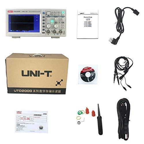 UNI-T 7730071 Digital Storage Oscilloscope, White/Grey by Uni-T (Image #5)
