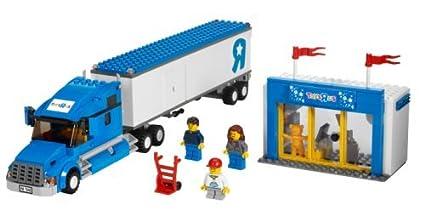 Amazon Com Lego City Toys R Us Truck 7848 Toys Games