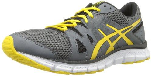 ASICS Men's Gel-Unifire tr-m, Charcoal/Flash Yellow/Black, 10 M US