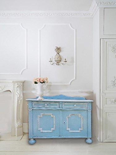 Credenza, mobile, stile shabby chic, colore azzurro,stile provenzale ...