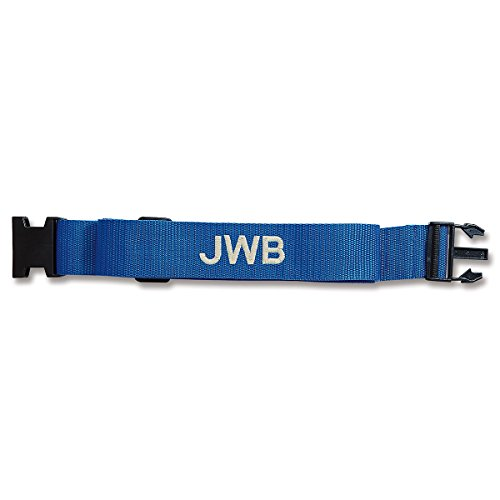 Personalized Blue Luggage Strap - 2