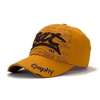 Amazon.com: CUSHY Caquette Cap Outdoor Port unhat Women Men Leiure Peaked Matching Cap Hip Hop Port net Port Cap ummer Gorra Retro Hat: B10, M: Clothing