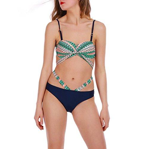 La Modeuse - Bikini - para mujer Verde