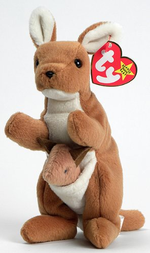 (TY Beanie Baby Pouch the Kangaroo)