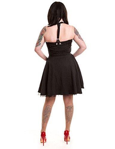 Rockabella - Robe - Sans Manche - Femme Noir Noir
