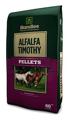 Standlee Hay 1575-30101-0-0 40 lbs. Premium Alfalfa & Timothy Pellets -