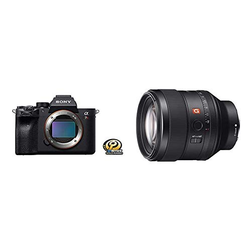 Sony Alpha 7R IV Full-Frame Mirrorless Interchangeable Lens Camera (ILCE7RM4/B) with Sony FE 85mm f/1.4 GM Lens