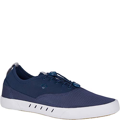 (Sperry Top-Sider H20 Maritime Bungee Sneaker Men 10.5 Navy)