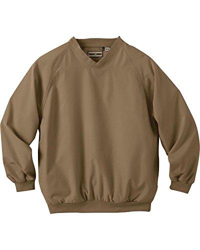 Ash City Mens Micro Plus Raglan Windshirt With Teflon_Desert Tan_XL