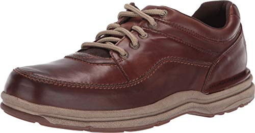 Rockport Men's Wt Classic Oxford Brown Leather 11.5 M US