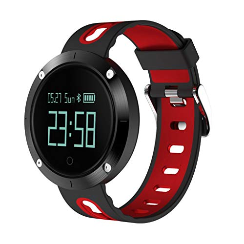 KOROWA LEMFO T1 Heart Rate Blood Pressure Monitoring Intelligent Smart Watch Step Counter Tracker Pedometerred by KOROWA