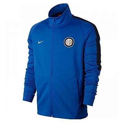 2017-2018 Inter Milan Nike Authentic Franchise Jacket (Blue)