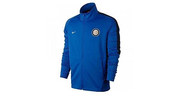 2017-2018 Inter Milan Nike Authentic Franchise Jacket (Blue ...
