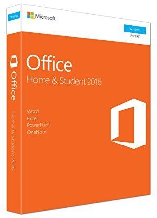 MS Office 2016 Home and Student Boxed Product