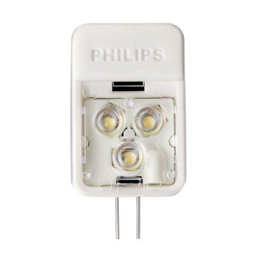 Philips 418392 3-Watt (20-Watt) AccentLED T3 Desk and Cabinet G4 Base 12-Volt Light (Halogen Capsule Bulbs)