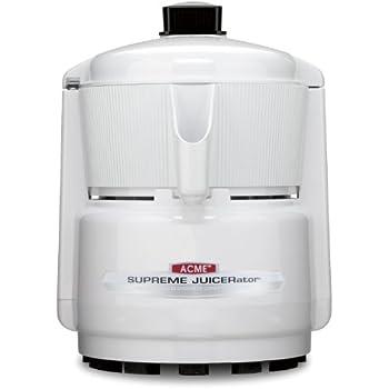 Acme 5001 Juicerator 550-Watt Juice Extractor, Quite White